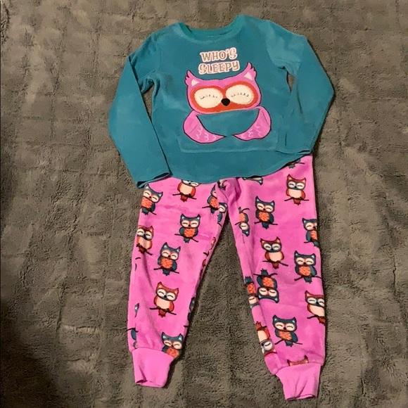 Super soft owl pajamas